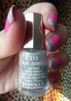 Disco Barbie Nails