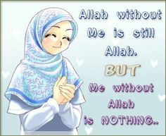 Very True Anime MuslimHijab QuotesFashion