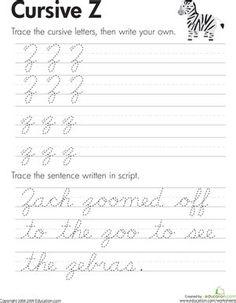 Handwriting Practice Worksheets, Cursive Writing Worksheets, Handwriting Analysis, Cursive Letters, Worksheets For Kids, Practice Cursive, Improve Handwriting, Cursive Chart, Print Handwriting