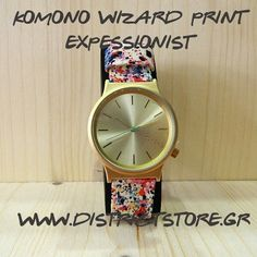 Komono wizard print expressionist. Almost a classic by komono brand. Available at #DistrictConceptStore  Ioannina Greece.