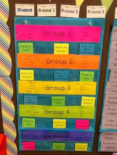 This is a great example of how to schedule different groups (Daily 5, centers, etc).