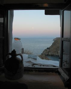 waiting for the sunrise - village of Kastro, Sifnos island, Greece