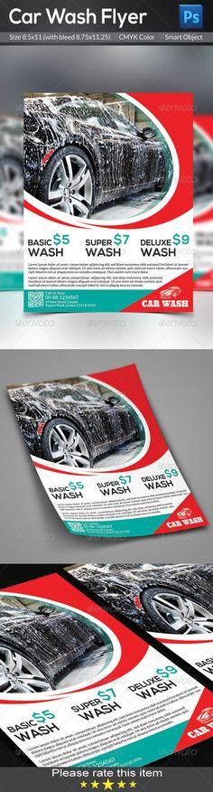 Car Wash Flyer Templates - Corporate Flyers u2026 Pinteresu2026 - car wash flyer template