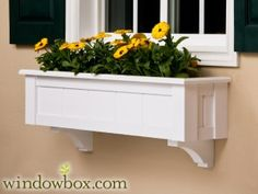 The Connecticut Window Box w/ Cleat Mounting System