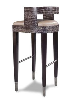 Bar Stool Metal and Wood
