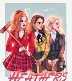 Does anyone else see Cheryl, Betty, and Toni from Riverdale? Riverdale Cheryl, Bughead Riverdale, Riverdale Funny, Riverdale Memes, Riverdale Comics, Riverdale Poster, Riverdale Wallpaper Iphone, Riverdale Aesthetic, Riverdale Fashion