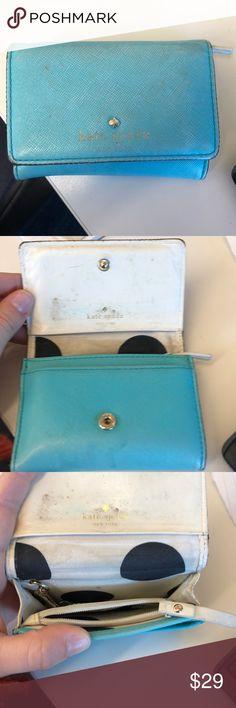 Kate spade blue wallet Blue Kate Spade wallet kate spade Bags Wallets