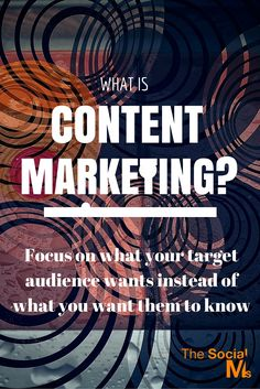 What's Content Marketing again? - The Social Ms