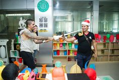 Colombia Customer Visit Winbo 3D Printer Showroom  So Cute !