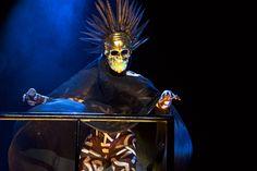 grace jones afropunk   Grace Jones played topless at Afropunk Fest's Fancy Dress Ball with ...
