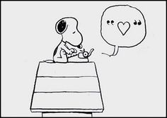 Snoopy Heart Quote.