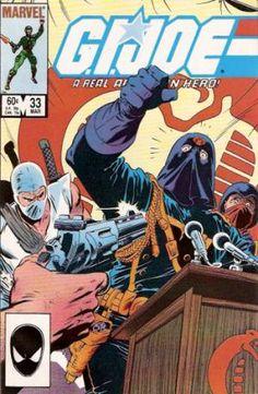 G.I. Joe: A Real American Hero (IDW, 1982) #33