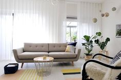 Now launched in South Africa, Sofacompany is a Danish online furniture shop with its own design team and production. 3 Seater Sofa, Living Room Designs, Sofas, Couch, Summertime, Heaven, Decorating, Furniture, Home Decor