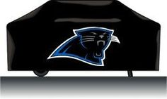 Carolina Panthers Grill Cover Deluxe