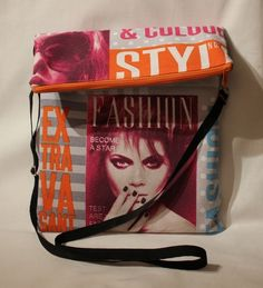 *+Mein Beitrag zum Thema Zeitung der Kreativ Chaoten Nr.16*+    Nicht nur die Illustrierte in der Tasche, nein die Tasche ist die Illustrierte!    ...