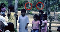 The image comes from a video obtained by noted paranormal writer Michael Cohen and is claimed to have been filmed by two British tourists visiting the Mamaus region of the Amazon.
