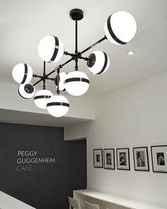 Peggy Guggheneim Café by Hangar Design Group, Venice Italy cafe