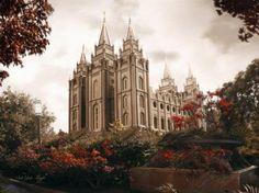 Salt Lake Temple by Brent Borup