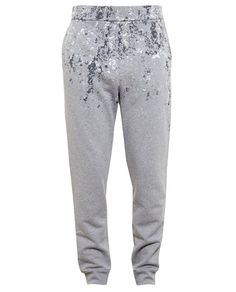 BALENCIAGA | Jersey Joggers with Marble Print