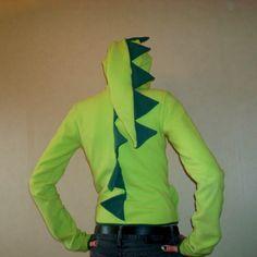 DIY Dragon/Dinosaur hoodie