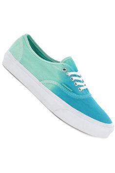 9d1c3a9a6179 Vans Authentic Slim Shoe women (ombre cloisonne icy green)