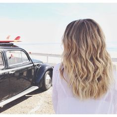 Beachy waves by @Kristin Ess