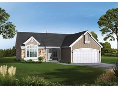Ranch Home Plan Whittingham 2 027 Square Feet Of Living Area 4