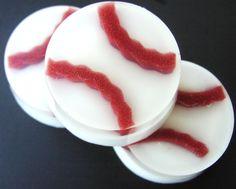 Kids Soap - Baseball Soap - Home Run - Sports - Fresh Cut Grass Scent - Soap for Boys - Sports Soap. $5.00, via Etsy.