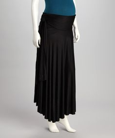 Take a look at this Black The 40 week SASH Maternity Skirt - Women by 2 chix on today! That Look, Take That, Sash, Maternity Skirts, High Waisted Skirt, Surrogacy, Toddler Stuff, Mom, Fabric