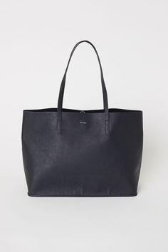 78b546a67c11 Kifordítható bevásárlótáska - Fekete - | H&M HU 1 Tote Táska, Madewell,  Fekete Nők