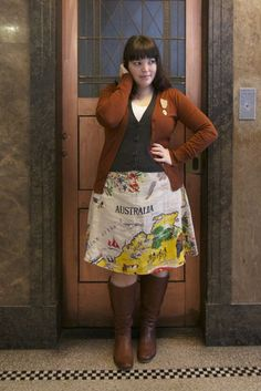 I will totally need to make a skirt like this!