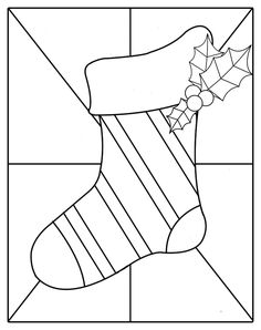 stained glass designs for beginners | stained glass patterns for free: Christmass stained glass patterns