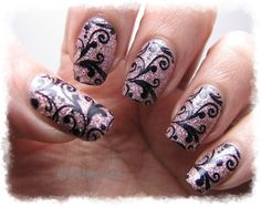 Nail Art by Belegwen: Bling!