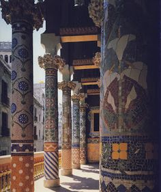Palau de la Musica, Barcelona, Domènech i Montaner, 1905-08
