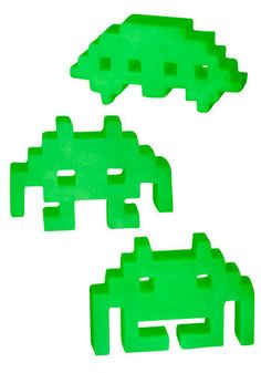 Glow in the dark space invaders - christmas present for my husband??
