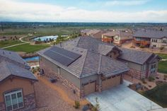 Here's a great example of Solar on cement tiles.