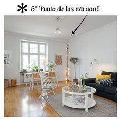 Decoración Mini piso nórdico lista para copiar | Decorar tu casa es facilisimo.com