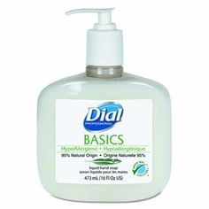 Bottles x 16 oz) Dial Professional Basics HypoAllergenic Liquid Hand Soap for sale online Expensive Makeup, Liquid Hand Soap, Soap Pump, Hand Care, Personal Hygiene, Mild Soap, Health And Beauty, Bottle, Cleaning Solutions