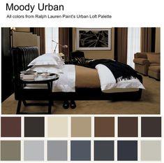 Ralph Lauren Interior Paint Colors   Ralph Lauren Paint Colors: Moody Urban