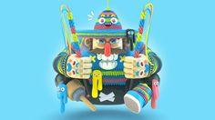 Les sculptures virtuelles de Grand Chamaco