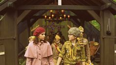 """Why do you consider me your enemy?"" ""Because your girlfriend stabbed me in the back with lefty scissors."" ""She's my wife now."" - Moonrise Kingdom"