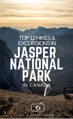 A list of some of the best and most popular hikes in Jasper National Park in Canada. Includes Information about the trail lengths and an interactive map of the trailheads @inafaraway_land