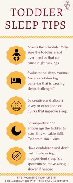 If your toddler struggles with night waking and separation anxiety, you must read these helpful tips from The Baby Sleep Site.