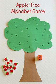 Alphabet game... Prekpages.com