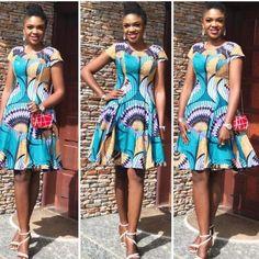 Cutie Short Ankara Gown Styles You Should Sew Next.Cutie Short Ankara Gown Styles You Should Sew Next African Fashion Ankara, Latest African Fashion Dresses, African Print Fashion, Africa Fashion, Ankara Gown Styles, Kente Styles, Ankara Dress, Short African Dresses, African Print Dresses