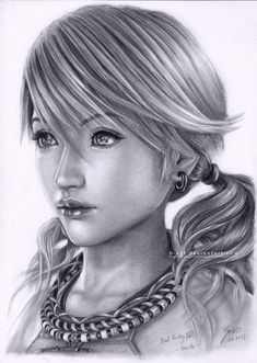 Vanille Final Fantasy 13 by B-AGT.deviantart.com on @deviantART