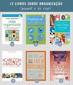 12 livros sobre organização (pessoal e da casa) - Casinha Arrumada