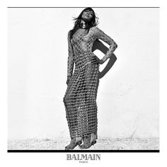 Claudia Schiffer, Cindy Crawford and Naomi Campbell star in the Balmain SS16 campaign