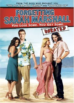 : Forgetting Sarah Marshall (Unrated): Jason Segel, Kristen Bell, Mila Kunis, Russell Brand: I can watch this movie WEEKLY. SO funny. Zootopia 2016, Russell Brand, Paul Rudd, Kristen Bell, Mila Kunis, Movies Showing, Movies And Tv Shows, Lying Game, Movies Worth Watching