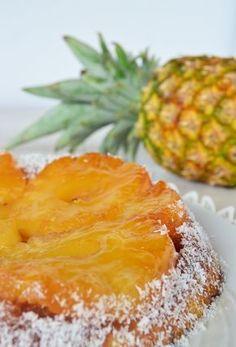 Torta invertida de Ananá / Tres Tenedores